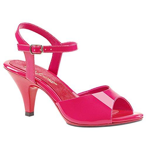 Fabulicious BELLE-309 Hot Pink Pat/Hot Pink UK 5 (EU 38)
