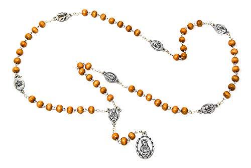 Catholic Gift Shop Ltd - Rosario de cuentas con forma de