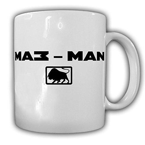 MAZ-MAN Firmen Logo zware vrachtwagen Rusland Rode leger trekkers Minski Awtomobilny Sawod - kop koffie beker #15717