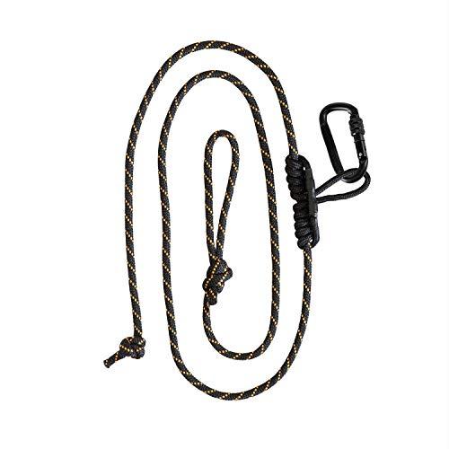 Muddy Safety Harness Lineman's Rope, Black/Orange