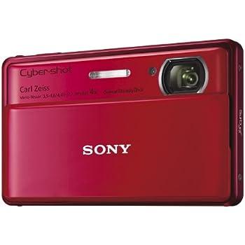 ソニー SONY デジタルカメラ Cybershot TX100V 1620万画素CMOS 光学x4 レッド DSC-TX100V/R