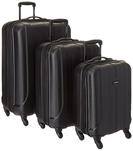 Samsonite Luggage Fiero HS 3 Piece Nested Set, Black, One Size