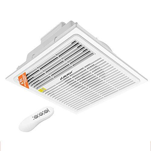 XIANGAI Calefactor Calentadores Eléctricos baño Incorporado Calentador Integrado Techo del baño a Prueba de Agua Calentador Aire-2000W
