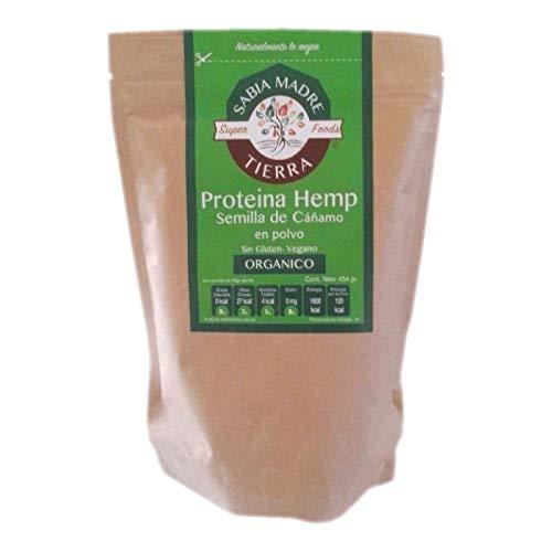 Proteina Hemp Orgánica 454Gr