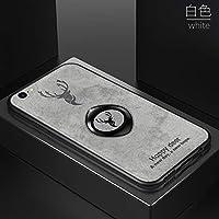 ケースIphone 6 / Iphone 6S、布の紋様 おしゃれ 子鹿 tpu ソフトフレーム 携帯ケース、薄型 人気 かわいい キラキラ 全面保護 qi 充電 ワイヤレス充電 ユニーク ステルスサポート機能 耐衝撃 衝撃吸収 カバー、可愛い 面白い クリスタル フラッシュ ケース、耐汚れ 滑り防止 反指紋 反塵 超軽量 カバー、by beautycatcher - 白