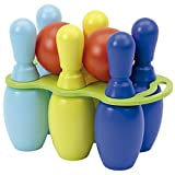Jouets Ecoiffier -156 - Jeu de bowling 6 grandes quilles 30 cm – Jeu de plein air pour enfants – Dès 18 mois – Fabriqué en France