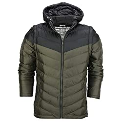 NOTE: Slim Fit Jacket - Please check size selection box 2 in 1 Style Jacket with Detachable Hood and Sleeves Mens Ultra Soft & Light Weight Foldable Packable Summer Jacket Zip Front, 2 Side Pockets with Zips, 2 Internal Pockets Please visit our store...