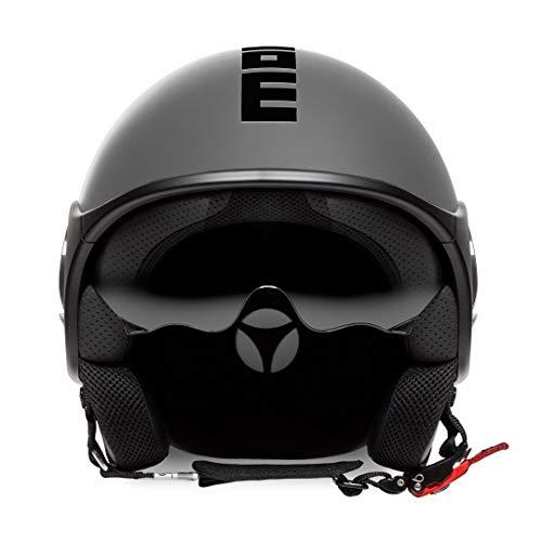 MOMO Design Herren 10020030054 Helmet, Schwarz, M