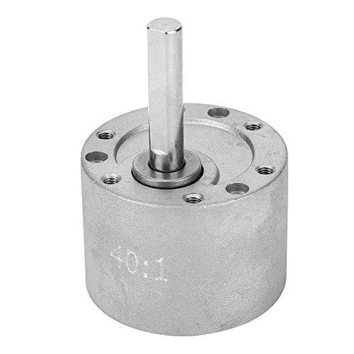 Elektrische Motor Versnellingsbak Geheel Staal 40: 1 Reductiemiddel Industriële Robotonderdelen d Type As 37 Mm Diameter Chassis Robotspeelgoed Auto's Modellen Trillingsproducten