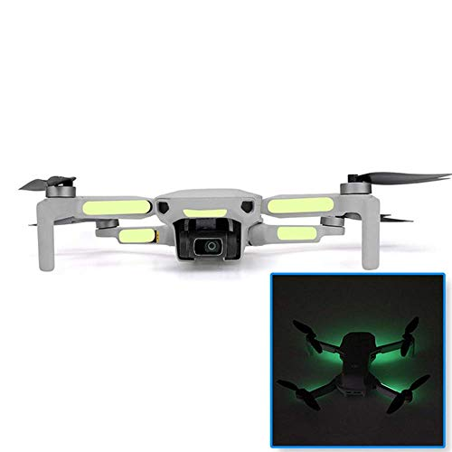 Linghuang Adesivi Luminosi Patch Adesiva Decorativa per DJI Mavic Mini Drone Fluorescenti Accessori