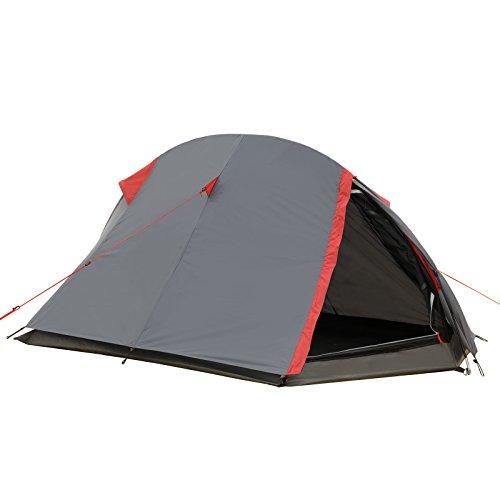Justcamp Fargo 1 Tenda da Campeggio 1 posto leggera...
