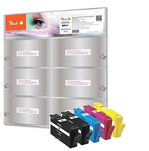 Peach Spar Pack Plus Tintenpatronen kompatibel zu HP No. 364XL