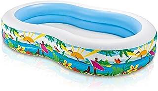Intex 56490 Swim Center, Paradise Lagoon - Multicolor