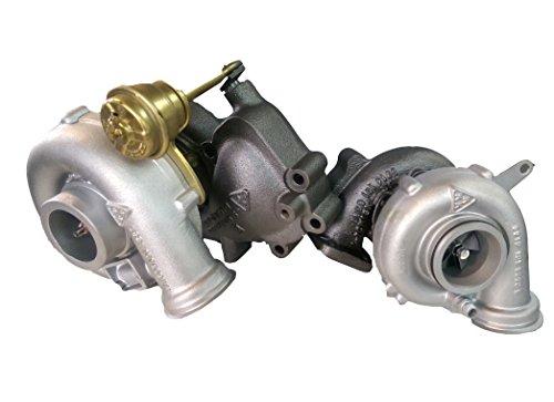 Turbolader Aufbereitet KKK R2S K16 + K26 Man Bi Turbo 1000-988-0049/1000-970-0049 Fahrzeug OE Nr.: 51.09100-7957