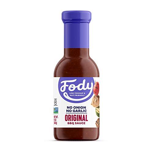 Fody Foods Original BBQ Sauce | Low FODMAP Certified | Gut Friendly, No Onion, No Garlic | IBS Friendly Kitchen Staple | Gluten Free, Lactose Free, Non GMO