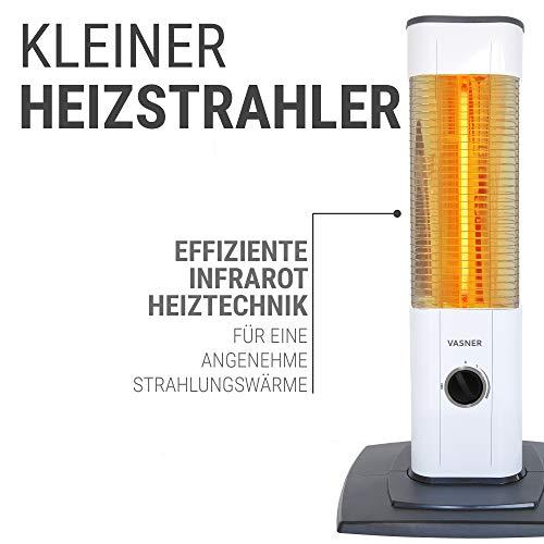 Infrarot Stand-Heizstrahler 1200 Watt mit Thermostat Bild 2*