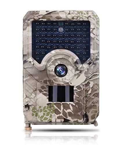 JFSKD 12MP 1080 P Wildlife jachtcamera met nachtzicht waterdichte bewakingscamera USB oplaadbare 0,8 s Trigger Time Trap game camera 26 stuks IR LED