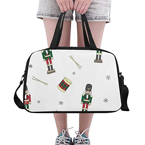 XiexHOME Travel Gym Bag Popular Music Art Drumming Instrument Yoga Gym Totes Fitness Handbags Duffel Bags Shoe Pouch For Sport Luggage Womens Outdoor Tote Reusable