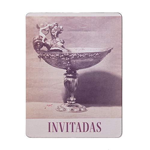 Mousepad del Museo del Prado'Copa abarquillada de ágata con Cupido sobre un dragón'