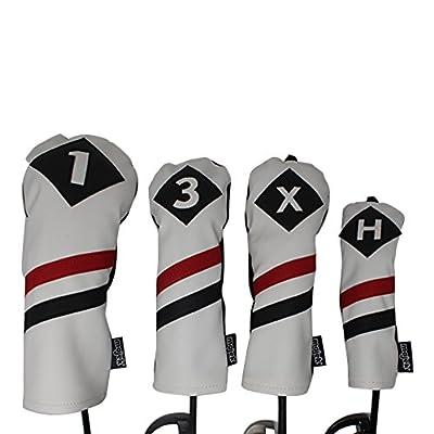 Majek Golfschlägerhauben im Retro-Stil