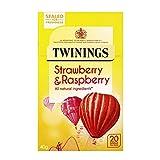 Twinings Strawberry & Raspberry Tea, 40 g
