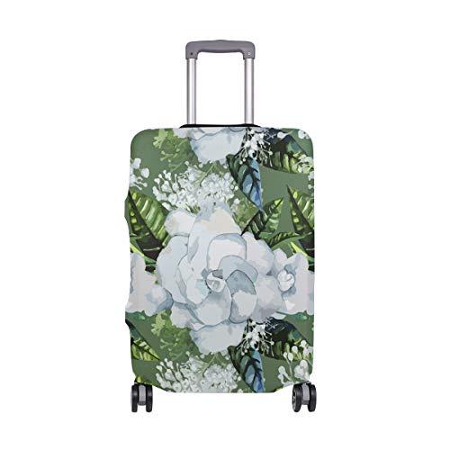 ALINLO Gardenia - Funda protectora para equipaje de 18 a 32 pulgadas