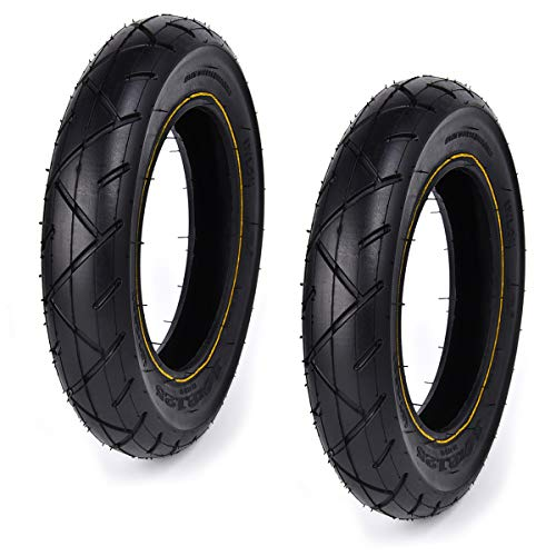 Wingsmoto 10 x 2,125 10-Zoll-Reifen für 2-Rad-Scooter, intelligent, selbstausgleichend, 25,4 cm, Einrad, 2er-Pack
