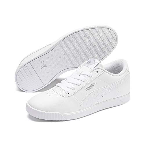 PUMA Carina Slim SL, Zapatillas Mujer, Blanco White