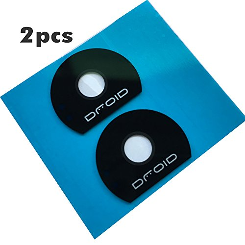 5PCS Lot Eaglestar New Rear Camera Cover Glass Lens Replacement for Moto Z Play Droid XT1635 /Moto Z XT1650/Moto Z Force With Tape on