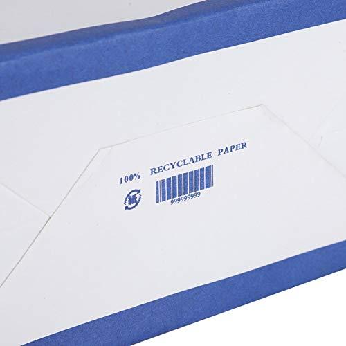 Eosnow Bolsa de Kraft, Bolsa de Regalo de Kraft Reutilizable para envasado de Alimentos para almacenar Regalos