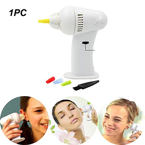 Vacuüm draadloze oorreiniger, elektrisch oorsmeer Eenvoudig verwijderingsgereedschap, oorsmeer Verwijder pijnloos hulpmiddel voor familieleden (1PC)