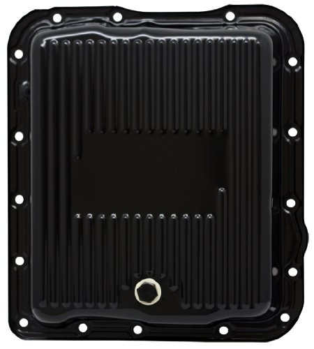 CFR Performance Compatible/Replacement for Chevy/GM 700R4-4L60E-4L65E Steel Transmission Pan - Black EDP
