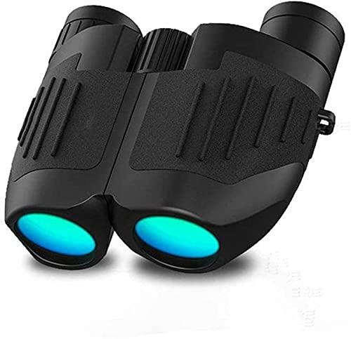 ZNMY Binoculares para Adultos, 10 x 25 binoculares para niños Adultos, Alta Potencia de Peso Ligero BAK4 Prism FMC Lens Binoculars Comp (Exterior dedicado)