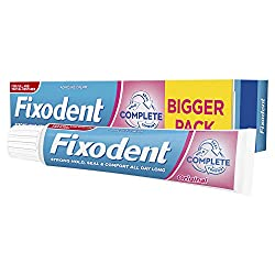Fixodent Complete Denture Adhesive