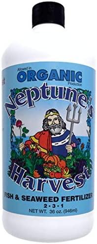 Neptune's Harvest Fish & Seaweed Fertilizer 2-3-1, 18 Ounce