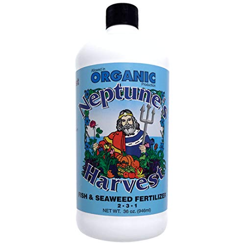 Neptune s Harvest Organic Hydrolized Fish & Seaweed Fertilizer 36 0z