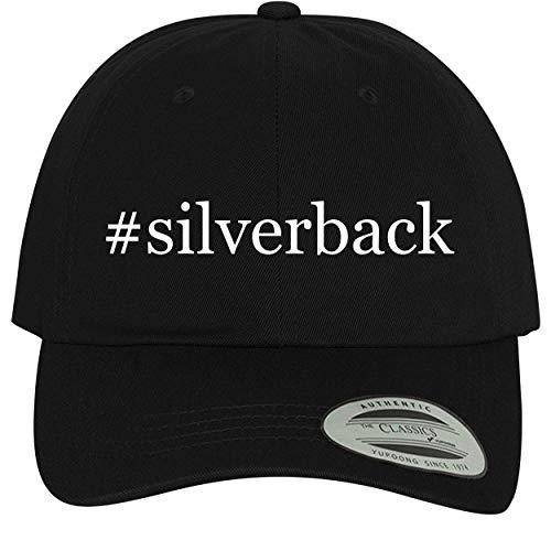 BH Cool Designs #Silverback - Comfortable Dad Hat Baseball Cap, Black