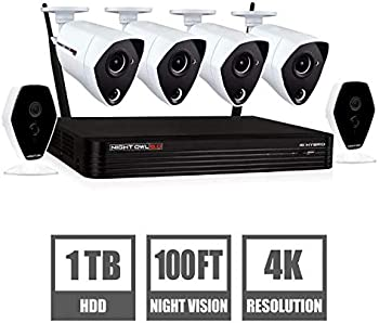 Night Owl 6-Ch. 6-Cam Wireless/Wired 1TB DVR Surveillance System