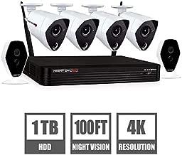 Night Owl 6-Channel 6-Camera 4K W2 Fusion Hybrid Security System with 1TB HDD DVR