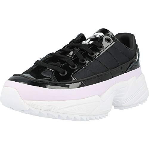 adidas KIELLOR W, Zapatillas de Running Mujer, Core Black Core Black Purple Tint, 39 1/3 EU ✅