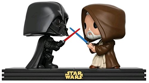 Funko Pop! - Figura Star Wars - Duelo Darth Vader contra OBI