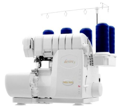 Baby Lock Desire 3 Overlock- und Coverlockmaschine - Neues Modell