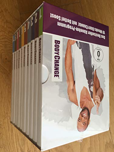 BodyChange Abnehm-Coaching DVD Box 2.0 (10 DVDs mit Workout- und Motivationsvideos + Booklet + Rezepte) mit Detlef Soost