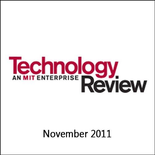 Audible Technology Review, December 2011 cover art