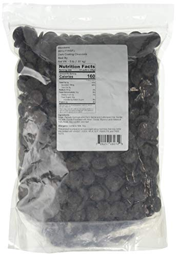 Dark Chocolate Wafers 5 lbs