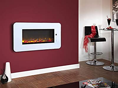 Designer Fire - Celsi Touchflame White