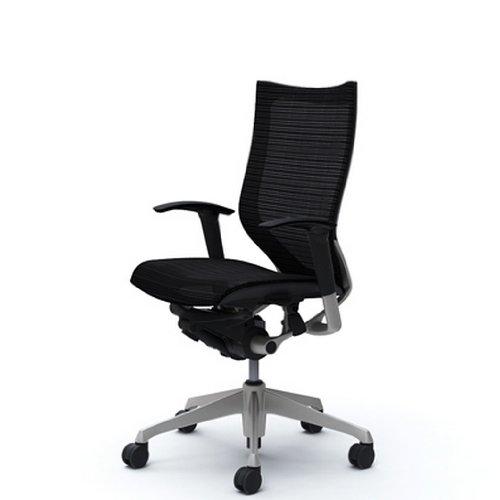オカムラ オフィスチェア バロン ハイバック 可動肘 座メッシュ ブラック CP85CR-FDH1