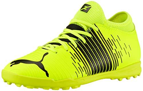Puma Future Z 4.1 TT JR, Scarpe da Football, Yellow Alert Black White, 37.5 EU