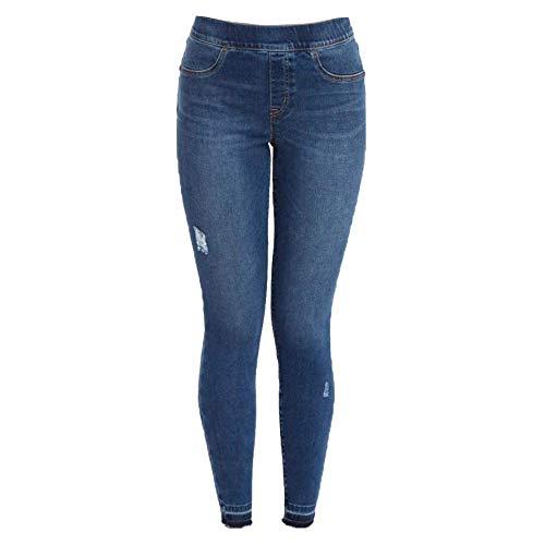 Spanx Damen 20203r-medium XL Legging, Grau (Medium Wash Medium Wash), 42 (Herstellergröße: X-Large)