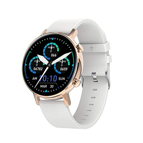 QIAI Full Touch Color Screen Smartwatch Bluetooth Call Music SmartWatch Blood Pressure And Heart Rate Monitoring Waterproof Smart Watch(Color:D)